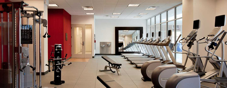 Hilton Garden Inn Chicago Downtown/Magnificent Mile Hotel, USA– Fitnesscenter