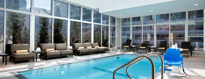 Hilton Garden Inn Chicago Downtown/Magnificent Mile Hotel, USA– Innenpool