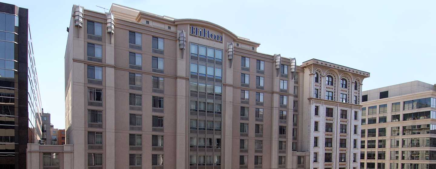 Hilton Garden Inn Washington DC Downtown Hotel, USA – Außenbereich des Hotels