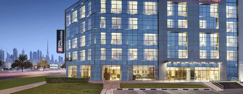 Hilton Garden Inn Dubai Al Mina Hotel, VAE– Außenansicht