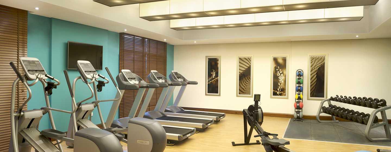 Hilton Garden Inn Dubai Al Mina Hotel, VAE– Fitnesscenter