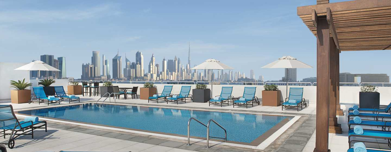 Hilton Garden Inn Dubai Al Mina Hotel, VAE– Außenpool