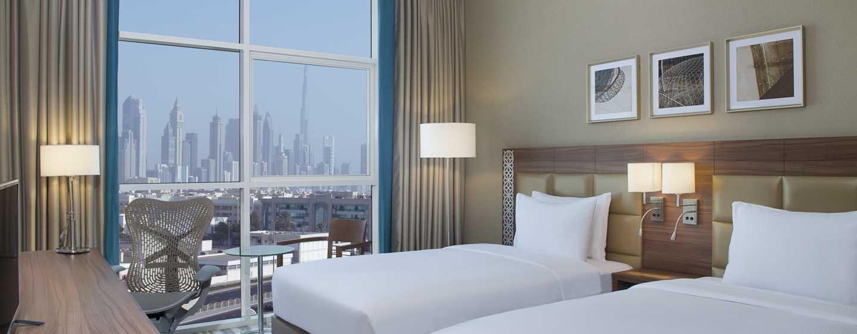 Hilton Garden Inn Dubai Al Mina Hotel, VAE– Zweibettzimmer