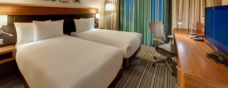 Hilton Garden Frankfurt Airport Hotel, Deutschland– Zimmer– Einzelbett