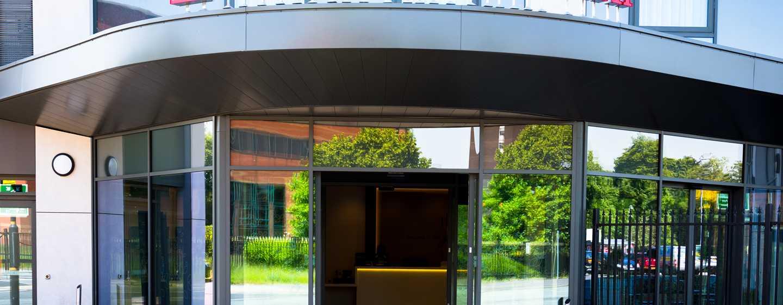 Hilton Garden Inn Mannheim, Deutschland – Eingang