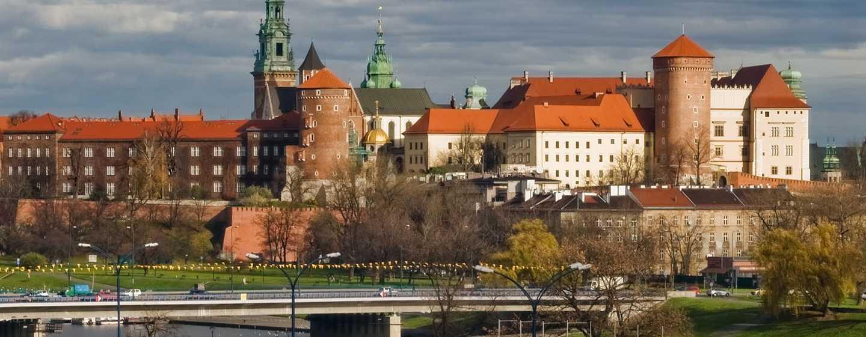 Vom Hotel können Sie die Sehenswürdigkeiten Krakaus bewundern