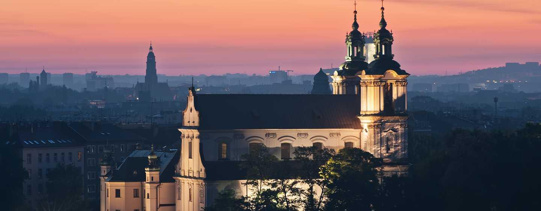 Das Hotel ist der ideale Ausgangspunkt um die historische Stadt zu erkunden