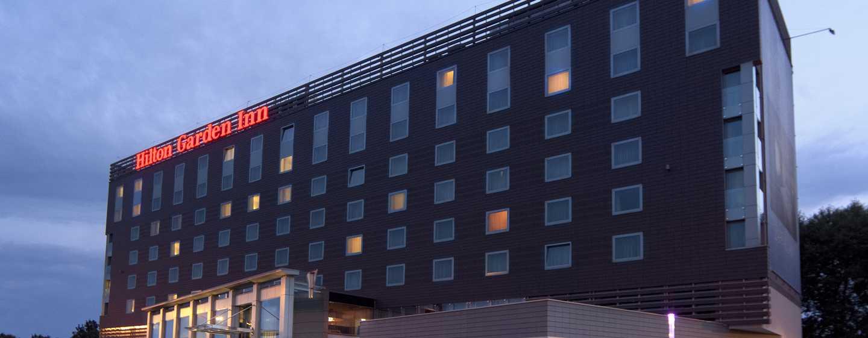 Das moderne Hotel begrüßt Sie unweit des Stadtzentrums von Krakau