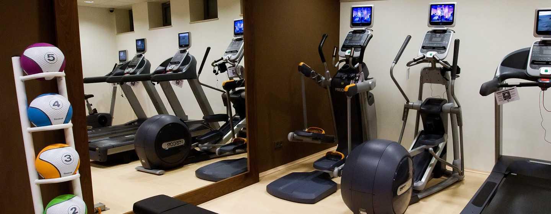 Das hoteleigene Fitness Center ist für Sie 24 Stunden lang geöffnet