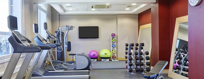 Hilton Garden Inn London Heathrow Airport, GB – Fitnessraum