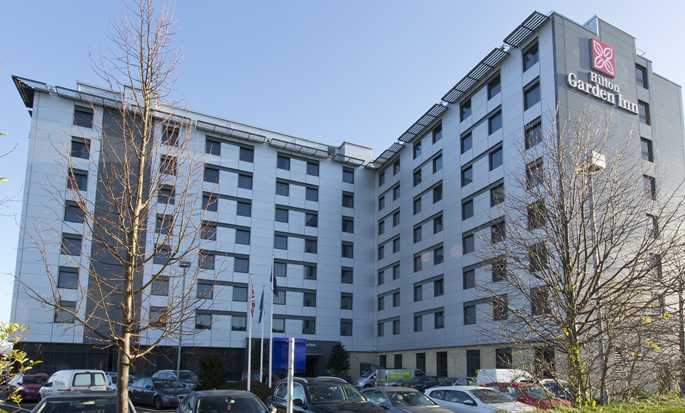 Hilton Garden Inn London Heathrow Airport, GB – Außenbereich des Hotels