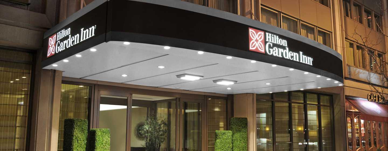 Hilton Garden Inn Times Square Hotel – Außenansicht – Vordereingang