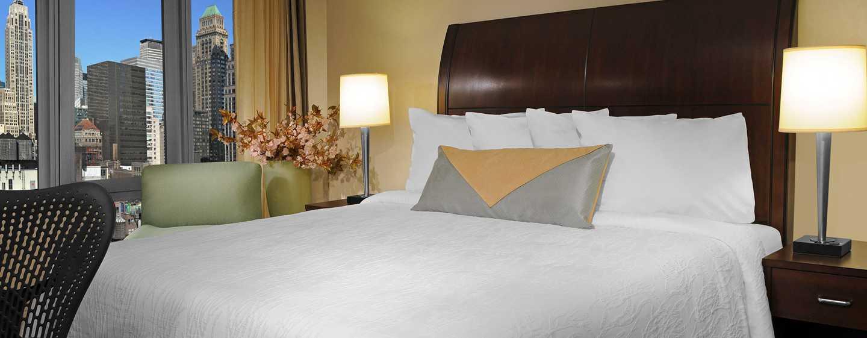 Hilton Garden Inn New York/West 35th Street, USA - Zimmer mit King-Size-Bett
