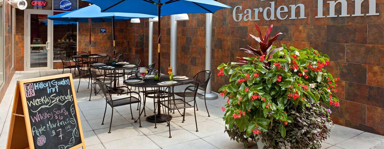 Hilton Garden Inn New York/West 35th Street, USA - Außenterrasse