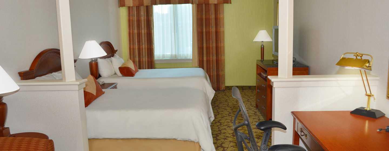 Hilton Garden Inn Philadelphia Center City Hotel, Pennsylvania, USA– Junior Suite mit zwei Doppelbetten