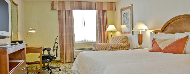 Hilton Garden Inn Philadelphia Center City Hotel, Pennsylvania, USA– Zimmer mit King-Size-Bett