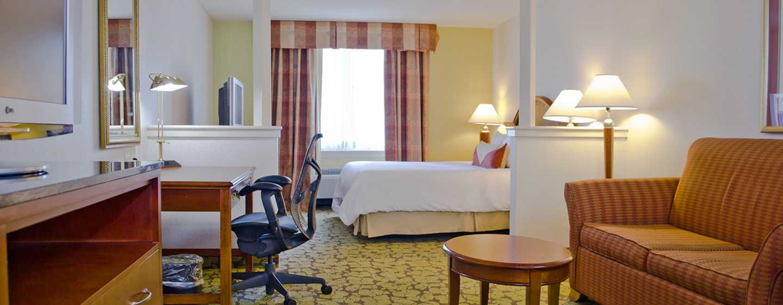Hilton Garden Inn Philadelphia Center City Hotel, Pennsylvania, USA– Suite mit King-Size-Bett