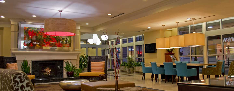 Hilton Garden Inn Philadelphia Center City Hotel, Pennsylvania, USA– Sitzbereich in der Lobby
