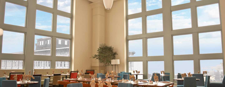 Hilton Garden Inn Philadelphia Center City Hotel, Pennsylvania, USA– Restaurantansicht