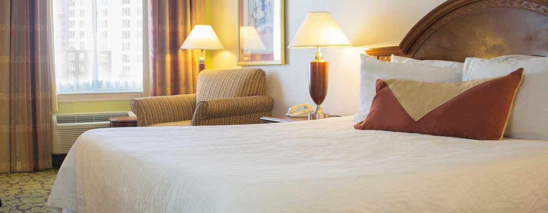 Hilton Garden Inn Philadelphia Center City Hotel, Pennsylvania, USA– Standard Zimmer mit King-Size-Bett