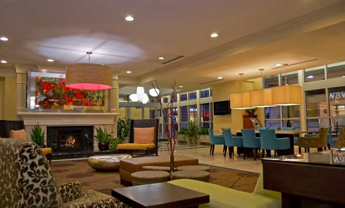 Hilton Garden Inn Philadelphia Center City Hotel, Pennsylvania, USA – Sitzbereich in der Lobby