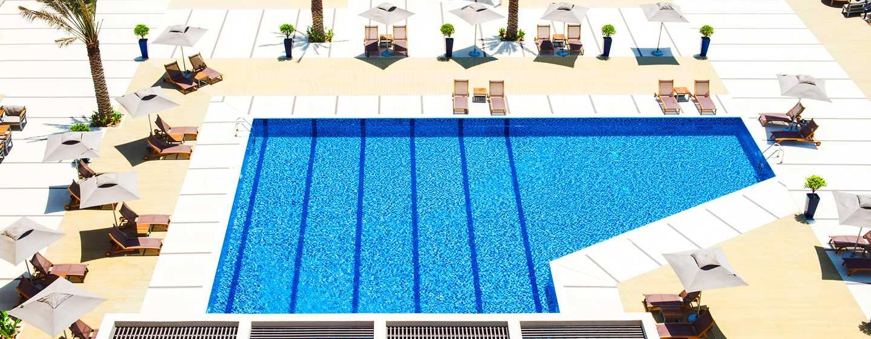 Hilton Garden Inn Ras Al Khaimah, VAE– Poolbereich