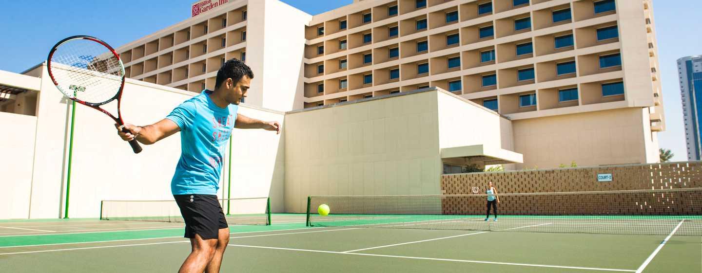 Hilton Garden Inn Ras Al Khaimah, VAE– Tennisplätze