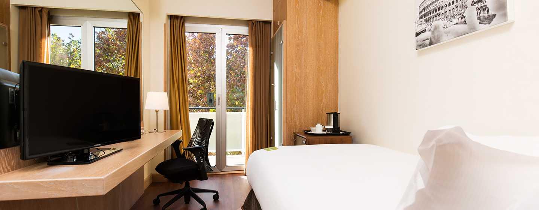 Hotel Hilton Garden Inn Rome Claridge, Italien– Einzelzimmer