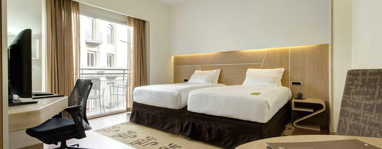 Hotel Hilton Garden Inn Rome Claridge, Italien– Zweibettzimmer