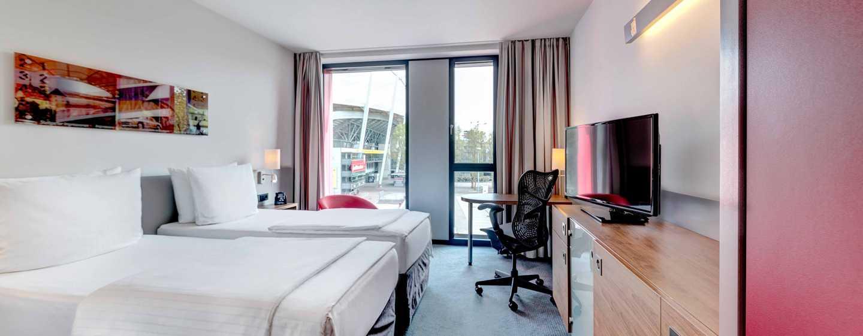 Hilton Garden Inn Stuttgart NeckarPark Hotel, Deutschland– Zimmer mit 2 Einzelbetten