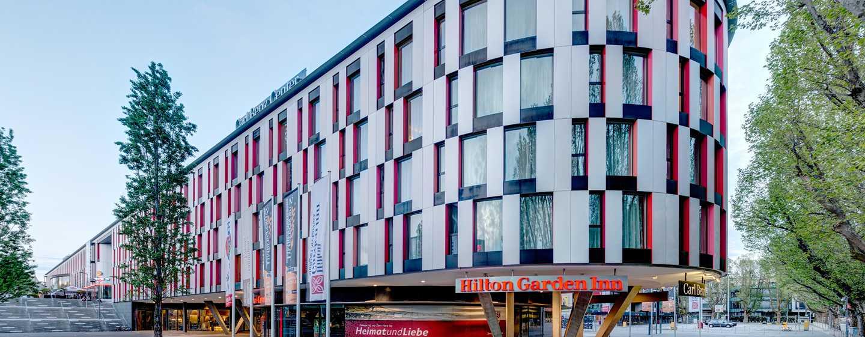 Hilton Garden Inn Stuttgart NeckarPark Hotel, Deutschland– Außenansicht Hotelgebäude