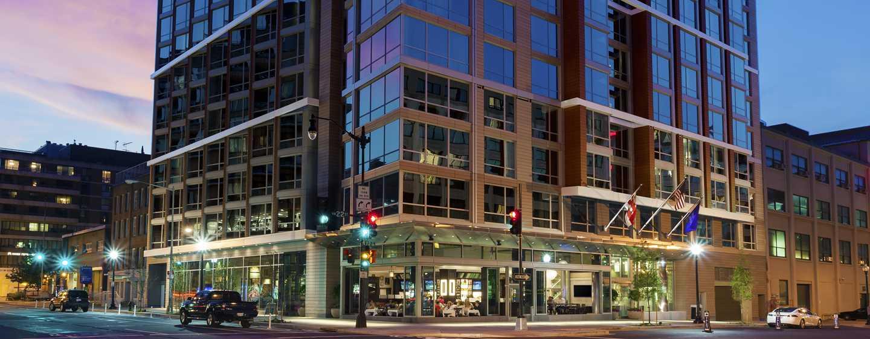 Hilton Garden Inn Washington DC/Georgetown hotel - Außenansicht des Hotels