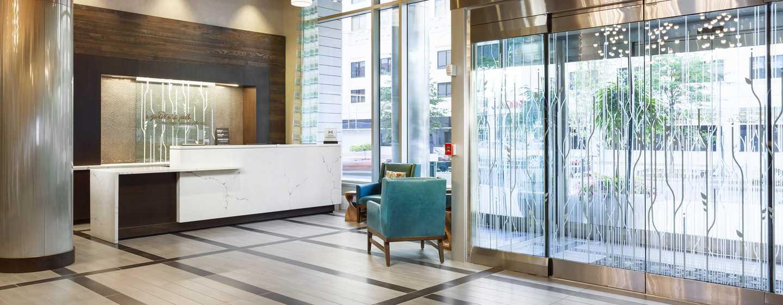 Hilton Garden Inn Washington DC/Georgetown hotel - Hoteleingang und Empfang