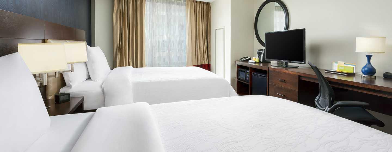 Hilton Garden Inn Washington DC/Georgetown hotel - Standard Doppelzimmer mit Queen-Size-Bett