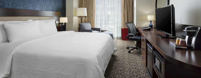 Hilton Garden Inn Washington DC/Georgetown hotel - Standard Zimmer mit King-Size-Bett