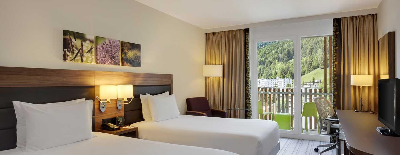 Hilton Garden Inn Davos Hotel, Schweiz – Zweibettzimmer