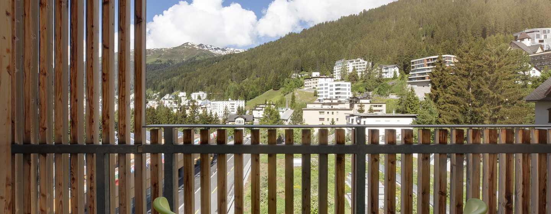 Hilton Garden Inn Davos Hotel, Davos, Schweiz– Balkon