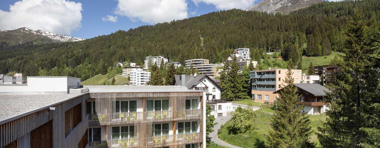Hilton Garden Inn Davos Hotel, Davos, Schweiz– Außenansicht des Hotels