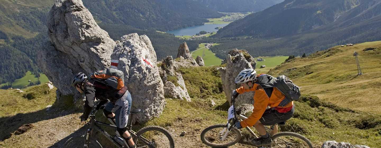 Hilton Garden Inn Davos Hotel, Davos, Schweiz– Mountainbike-Touren