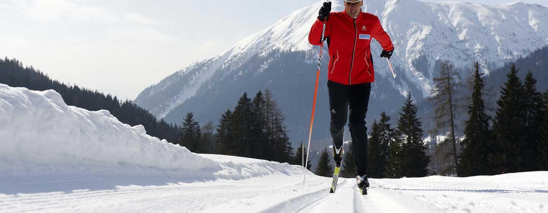 Hilton Garden Inn Davos Hotel, Davos, Schweiz– Skilaufen