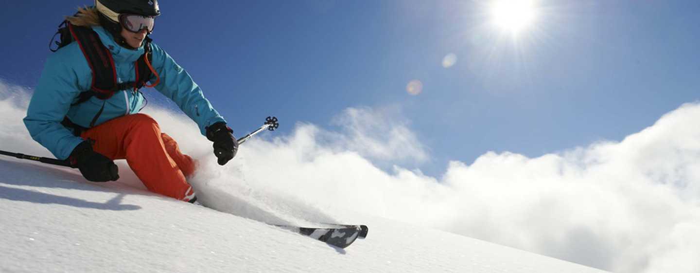 Hilton Garden Inn Davos Hotel, Davos, Schweiz– Alpin-Skilaufen