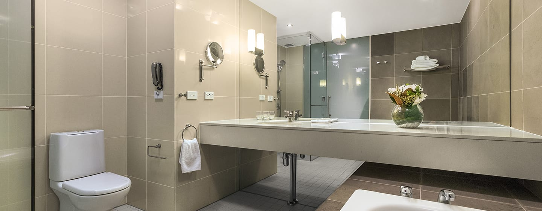 Hilton Auckland Hotel, Neuseeland– Badezimmer