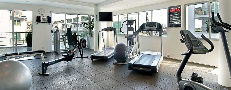 Hilton Auckland Hotel, Neuseeland– Fitnessraum