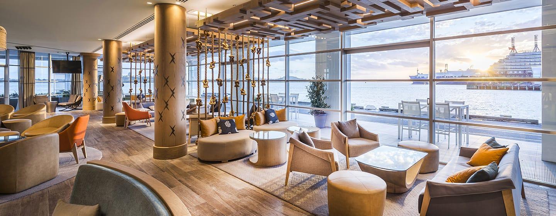 Hilton Auckland Hotel, Neuseeland– Bar Bellini