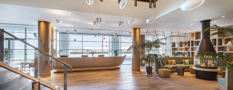Hilton Auckland Hotel, Neuseeland– Lobby