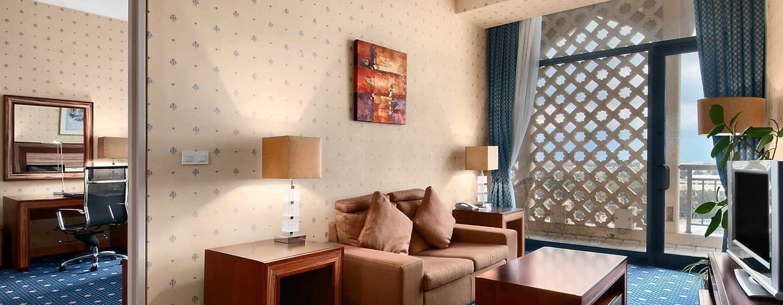 Hilton Algiers, Algerien – Junior Suite mit King-Size-Bett