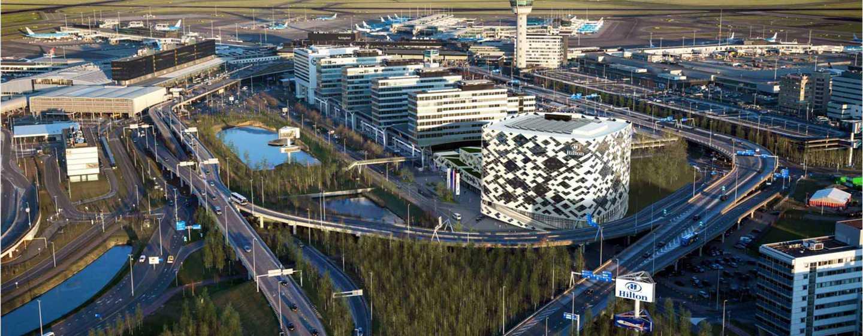 Park & Fly Arrangements von Hilton Amsterdam Airport Schiphol