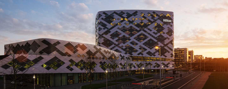 Hilton Amsterdam Airport Schiphol, Niederlande– Ausblick vom Hotel