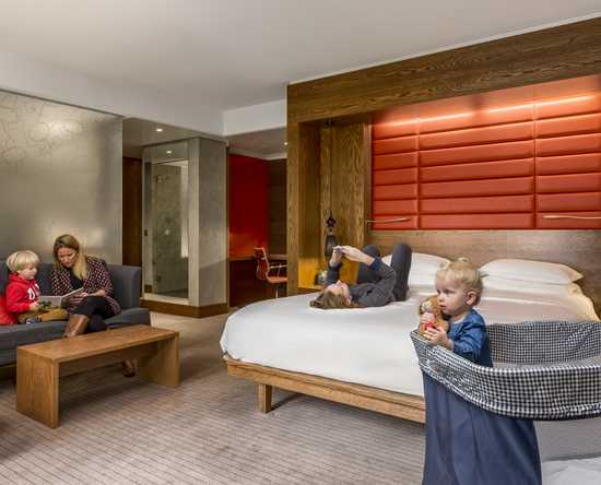 Hilton The Hague, Niederlande – Familien Suite