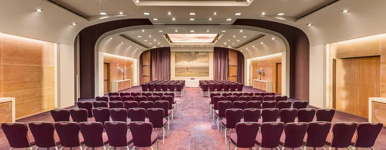 Hilton The Hague, Niederlande– Meetingraum Mesdag– parlamentarische Bestuhlung